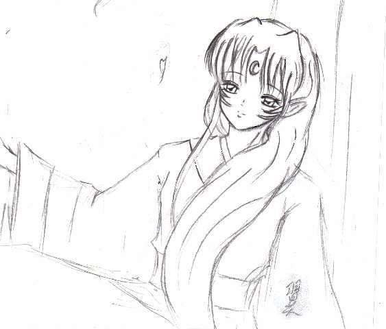美男子动漫铅笔画